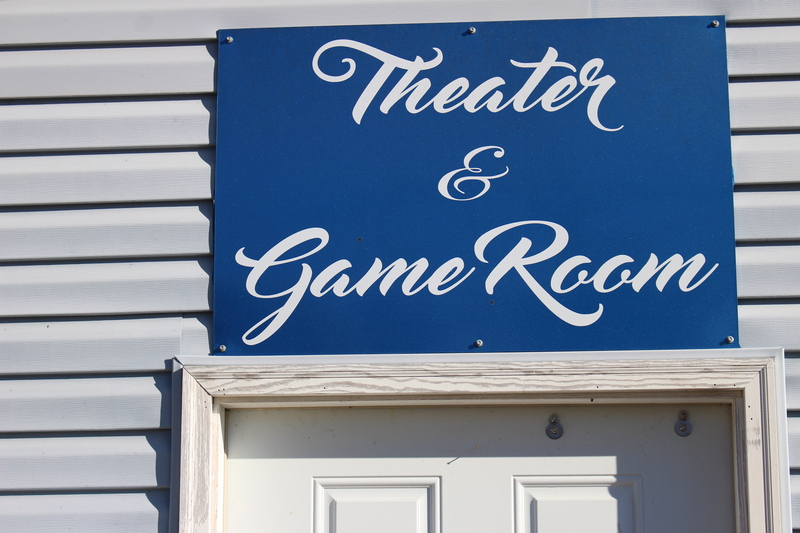 Game Room & Movie Room